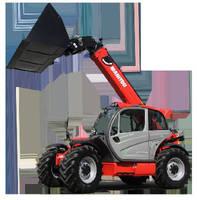 Telescopic Loader features max capacity of 8,800 lb.