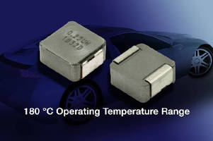 High-Current Inductor operates up to 180°C.