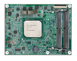 COM Express Module supports data-centric applications.