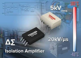 Isolation Amplifiers utilize delta-sigma AD converter.