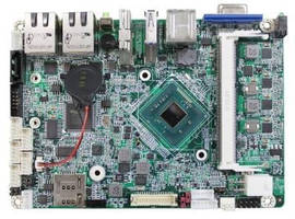 Compact Computer Board affords versatility via connectivity.