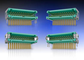 Horizontal Hi-Rel Connectors reduce PCB stacking height to 5.6 mm.
