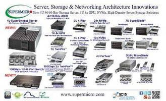 Supermicro® Debuts New 4U 90/60-Bay Storage Server Alongside 1U 4x GPU, NVMe, High-Density Server and Storage Solutions at SC15
