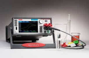 Electrochemistry Lab Systems integrate graphical touchscreen.
