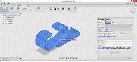 3D Print Quoting Plugin facilitates product development.