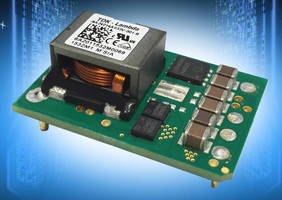 Wide-Input 250 W DC/DC Converters provide 3.3-24 V output.