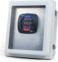 Power/Energy Meters come in pre-wired NEMA 4X outdoor enclosure.