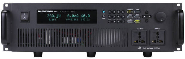 Programmable Power Sources have single-phase AC outputs.