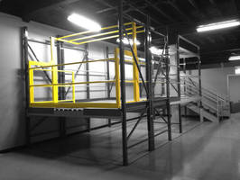 Mezzanine Safety Gate Can Be Customized to Accommodate Your Configuration