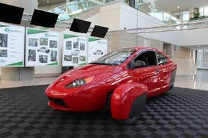 Elio Motors Unveils P5 Prototype at the Los Angeles Auto Show