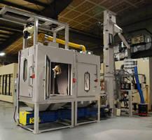 Robotic System offers grit-blast surface preparation.