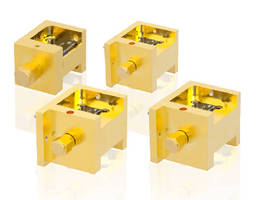 Waveguide Frequency Mixers exhibit low conversion loss.