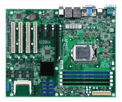 Industrial ATX Motherboard utilizes 6th Gen Intel Core CPUs.