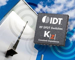 SPDT Absorptive RF Switch features constant impedance technology.