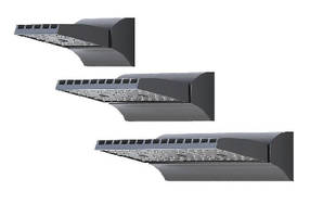 Wall Mount LED Fixtures feature low-profile design.