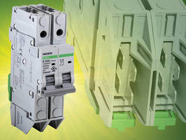 Miniature Circuit Breaker complies with UL/CSA/IEC standards.