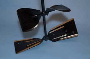 Agitator Blade uses aerospace design technology.
