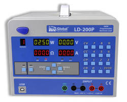 Programmable Electronic Load reliably tests up to 200 W.