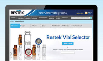 Try the New Vial Selection Tool from Restek