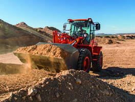 Wheel Loaders feature hydrostatic drive system.