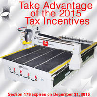 Techno CNC Router 2015 Tax Incentives