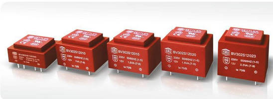 Encapsulated Power Transformers are designed for cool operation.