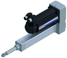 IP65 Electromechanical Cylinder has hygienic design.
