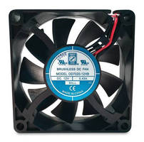 Tubeaxial 70 mm DC Fans maximize airflow while minimizing noise.