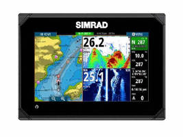 Chartplotter/Fishfinder offers wireless connectivity.