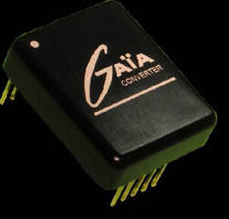 DC-DC Converters target military and airborne applications.