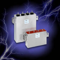 Medium Power Film Capacitors suit DC filtering applications.