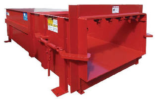 Industrial Compactor features single cylinder design.