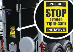 New: CILS Police-approved theft-deterrent Labels.