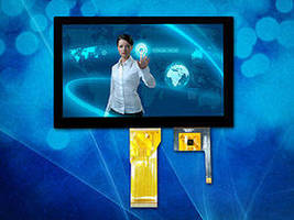PCAP LCD Touch Panel fosters enhanced device development.