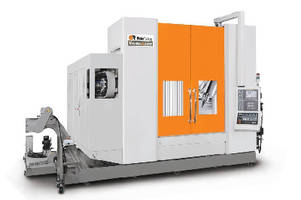 Five-Axis VMC features heavy-duty design.