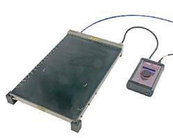 Heated Perforated Vacuum Bed creates thin films.