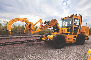 Rail Crane handles multiple railroad tasks.