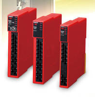 Safety Relay Unit offers facilitated installation/troubleshooting.