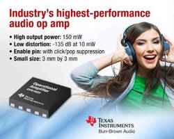 Audio Op-Amp enhances professional audio equipment performance.