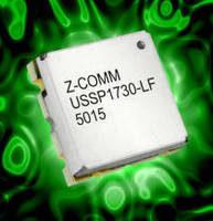 L-Band VCO comes in 0.2 x 0.2 x 0.06 in. package.
