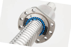 Ball Screws exceed 1 million newton capacity.