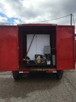 Portable Heater prevents liquid from freezing in tank, rail cars.
