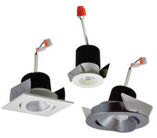 Modular LED Downlight supports 100+ design and trim options.