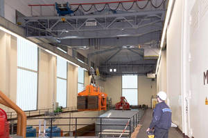 Makeover for Two Overhead Travelling Cranes