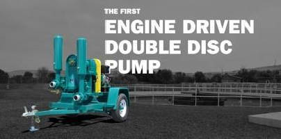 Double Disc Pumps handle fluids from 10-500 gpm.
