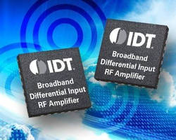 Broadband Differential Input RF Amplifier simplifies designs.
