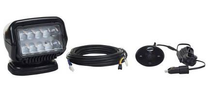Magnetic Mount LED Spotlight provides temporary lighting.