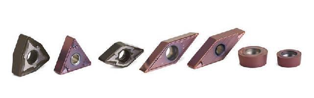 Wear-Resistant Insert Grades machine challenging materials.