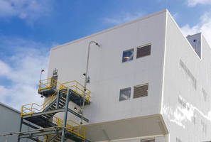 PVC/Polycarbonate Panels withstand industrial facility conditions.