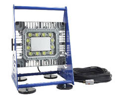 Explosion Proof LED Work Light features magnetic base.